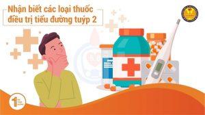 Nhận biết các loại thuốc điều trị Tiểu Đường tuýp 2