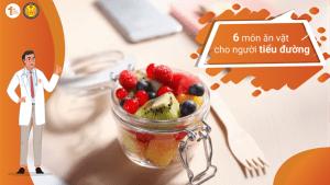 6 Món ăn vặt cho người tiểu đường: bạn đã biết chưa?