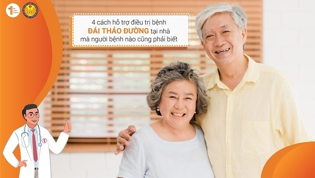 4 cách hỗ trợ điều trị bệnh Đái tháo đường tại nhà mà người bệnh nào cũng phải biết