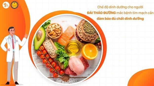 Chế độ ăn cho bệnh nhân Đái tháo đường mắc bệnh tim mạch 1