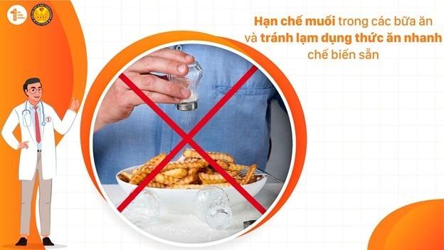 Chế độ ăn cho bệnh nhân Đái tháo đường mắc bệnh tim mạch 3