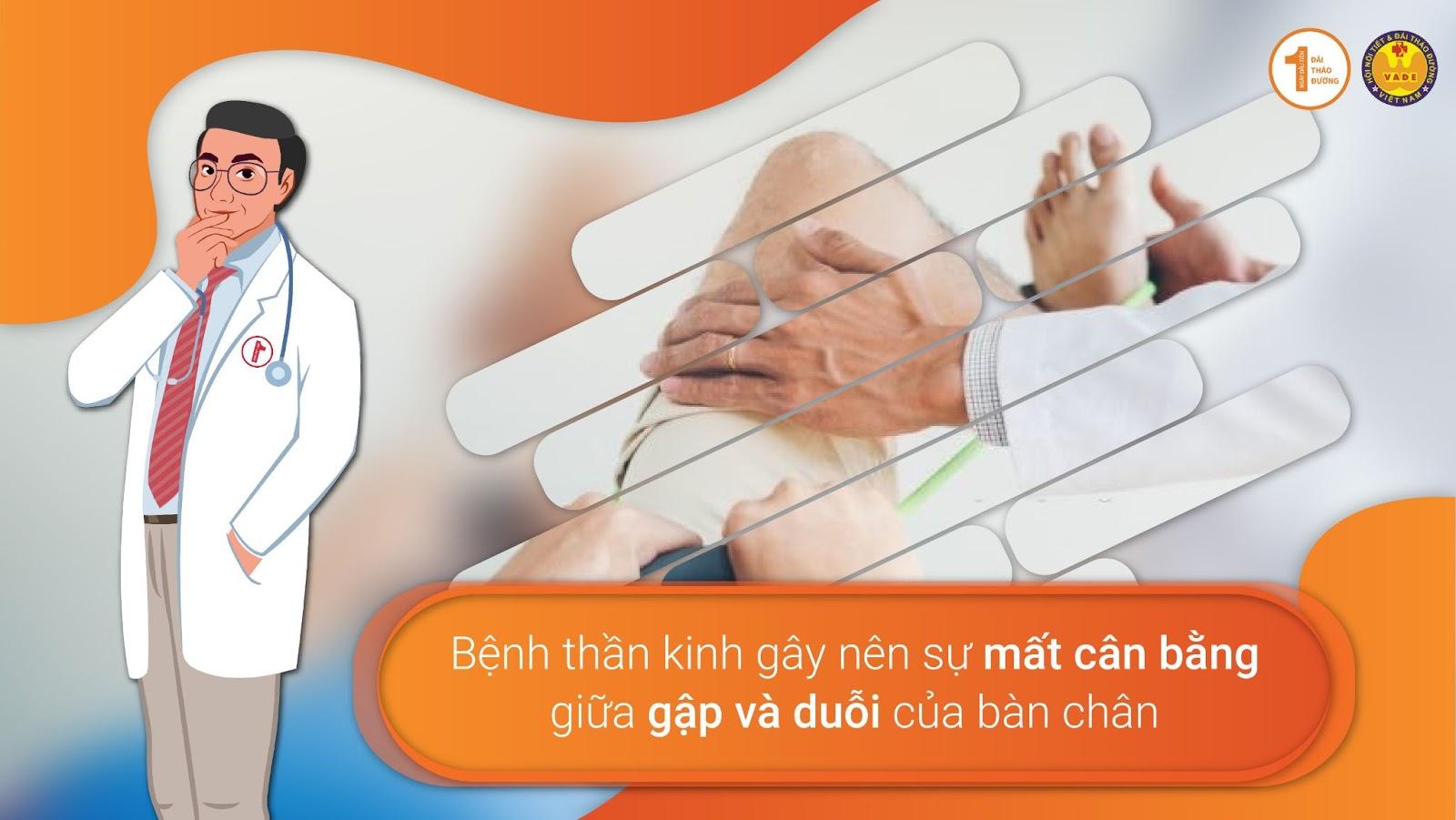 Nguyên nhân dẫn đến biến chứng bàn chân Đái Tháo Đường 1