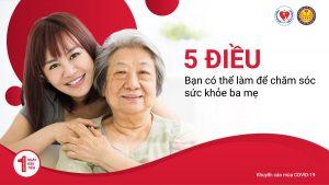 5 điều bạn có thể làm để chăm sóc sức khỏe ba mẹ