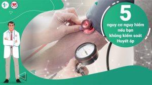 5 nguy cơ nguy hiểm nếu bạn không kiểm soát Huyết áp