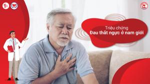 Triệu chứng Đau thắt ngực ở nam giới