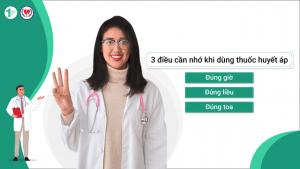 """3 điều cần nhớ khi dùng thuốc huyết áp """"Đúng giờ, đúng liều, đúng toa"""""""
