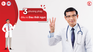 3 phương pháp điều trị Đau thắt ngực