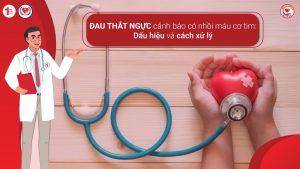 Đau thắt ngực cảnh báo có nhồi máu cơ tim: Dấu hiệu và cách xử lý