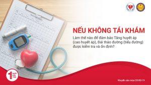 Nếu không tái khám, làm thế nào để đảm bảo Tăng huyết áp (cao huyết áp), Đái tháo đường (tiểu đường) được kiểm tra và ổn định?