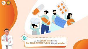 Sử dụng thuốc viên điều trị Đái tháo đường type 2 đúng và an toàn