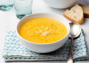 Món ngon mỗi tuần – súp bí và gà kiểu Thái