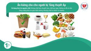 Chế độ ăn cho Bệnh nhân Tăng Huyết Áp (Cao Huyết Áp)