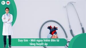 Suy Tim – Mối nguy hiểm đến từ Tăng huyết áp!