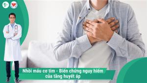 Nhồi máu cơ tim – Biến chứng nguy hiểm của Tăng huyết áp!