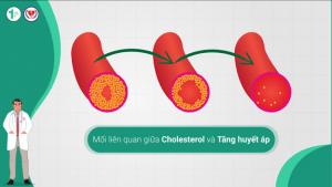 Mối liên quan giữa Cholesterol và Tăng huyết áp