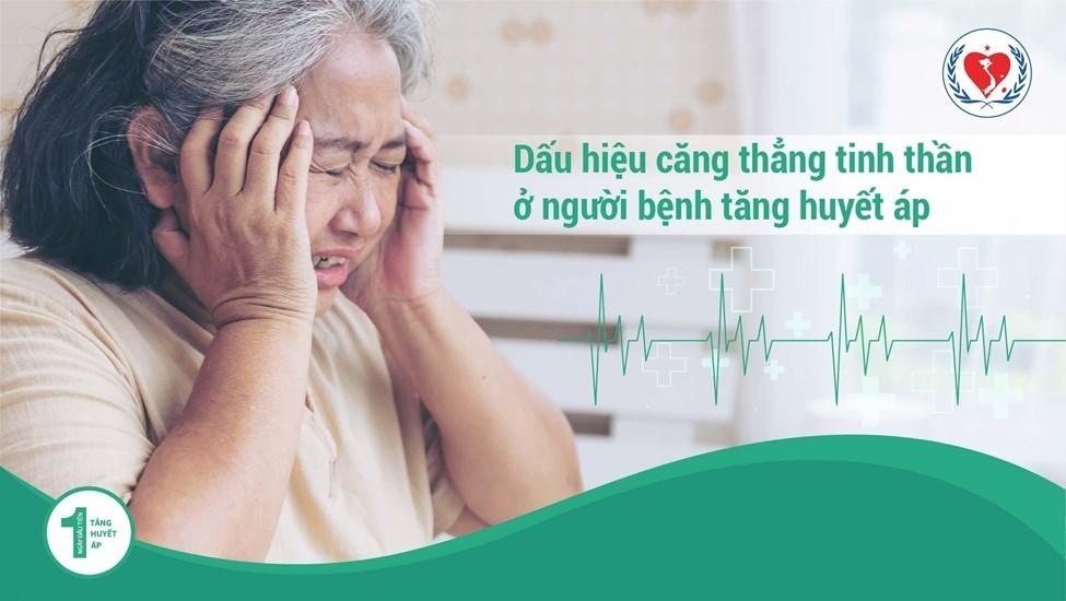 Căng thẳng tinh thần - Dấu hiệu ở người bệnh Tăng Huyết Áp