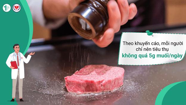 Tại sao ăn mặn lại Tăng huyết áp? Mối liên hệ ít người biết 2
