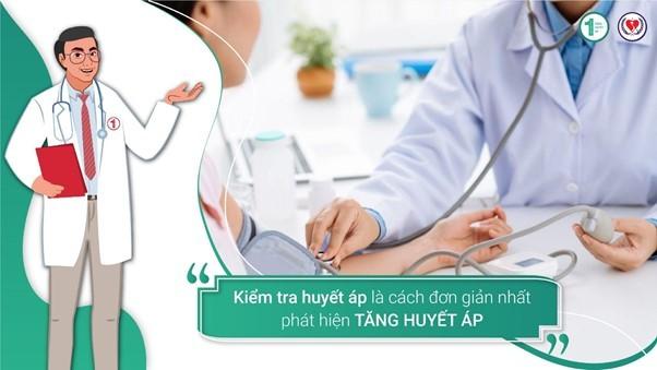Kiểm tra huyết áp là cách đơn giản nhất phát hiện Tăng huyết áp 3