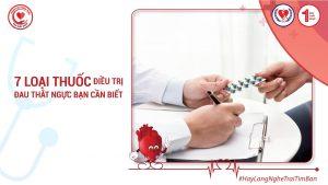7 Loại Thuốc Điều Trị Đau Thắt Ngực Bạn Cần Biết!