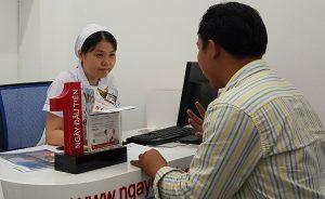 Ra mắt phòng tư vấn Ngày đầu tiên tại bệnh viện Nguyễn Tri Phương