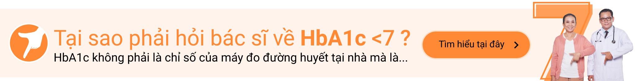 Tại sao phải hỏi bác sĩ về HbA1c <7?
