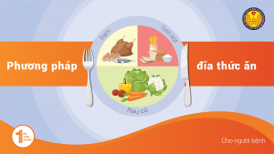 Phương pháp chia dĩa thức ăn cho người Đái tháo đường (Tiểu đường)