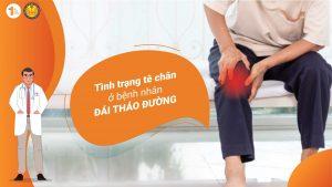Tình trạng tê chân ở bệnh nhân Đái tháo đường