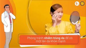 Phòng tránh nhiễm trùng da để có một làn da khỏe mạnh