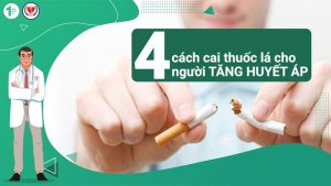 4 cách cai thuốc lá cho người Tăng huyết áp