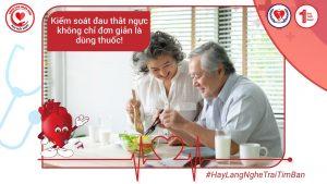 Kiểm soát đau thắt ngực không chỉ đơn giản là dùng thuốc!