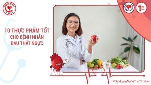 10 Thực Phẩm Tốt Cho Bệnh Nhân Đau Thắt Ngực