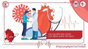 Trong đại dịch COVID-19 – Những lời khuyên bệnh nhân tim mạch cần nhớ