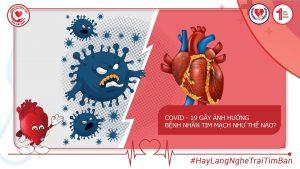 COVID – 19 gây anh hưởng bệnh nhân tim mạch như thế nào?